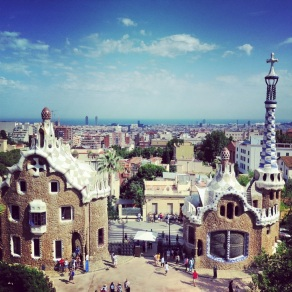 Parc, Guell, Barcelona, Spain