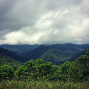 The hills of La Fortuna