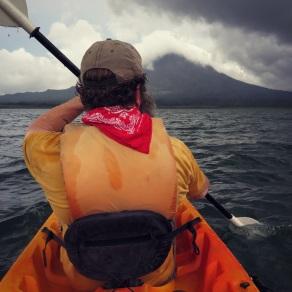 Kayaking to Arenal