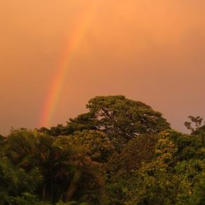 Rainbow over Santa Elena
