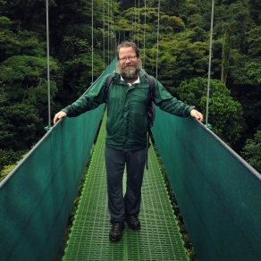 Hanging bridges over the canopy of the Santa Elena Cloud Forest