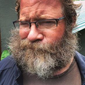 Beard madness post zip-line