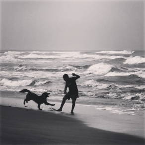 Play time on Tortuguero beach