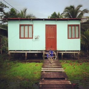 House in Tortuguero town