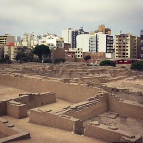 Wari Ruins in Lima