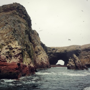 Natural Arch at Ballestas Islands