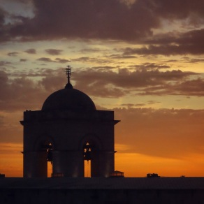 Sunset over the Monasterio
