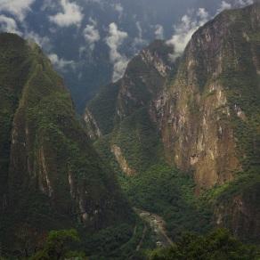 Machu Picchu mountains