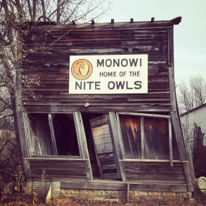 Monowi (pop 1) on the Outlaw Trail, NE