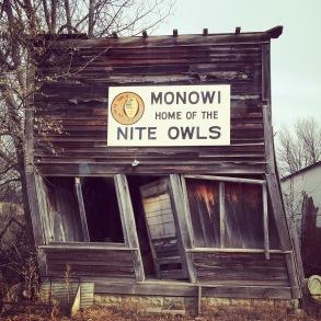 Monowi (pop 1) on the Outlaw Trail, NE
