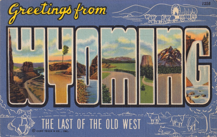 wyoming-large-letter-postcard