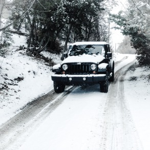 Black Betty in the snow