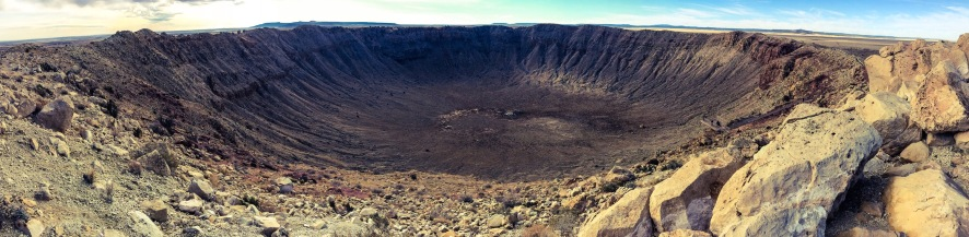 The Great Meteor Crater, AZ