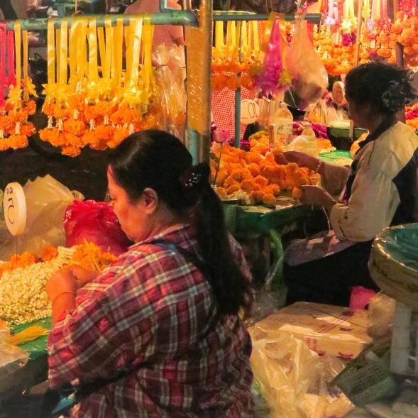 Flower Market, Bangkok, Thailand