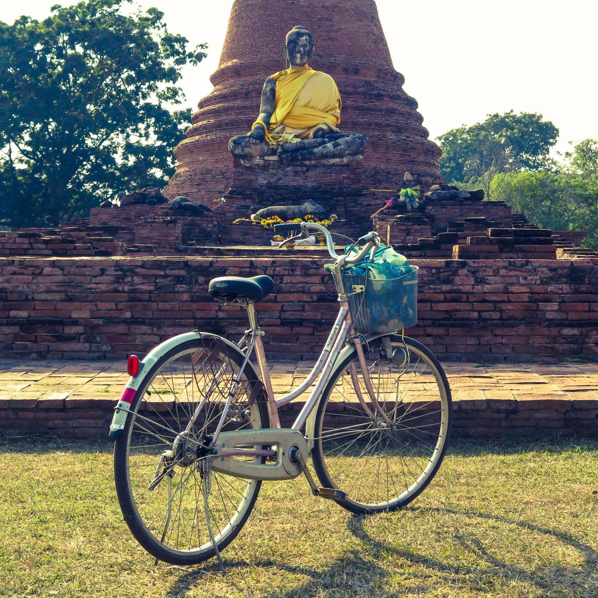 Ayuthaya - Bikes and Buddhas