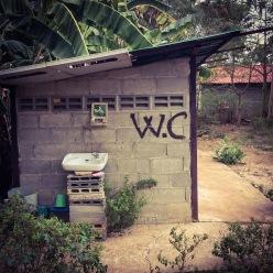 VIP Bathroom on the Thailand border