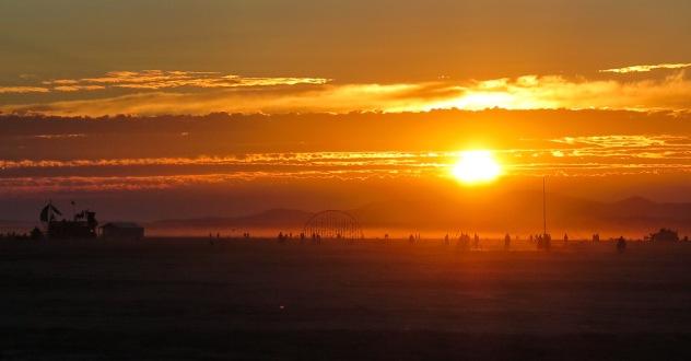 Sunrise on the Playa