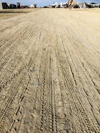 Tracks in BRC