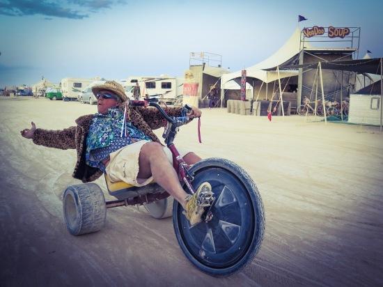 Darrell big wheelin'