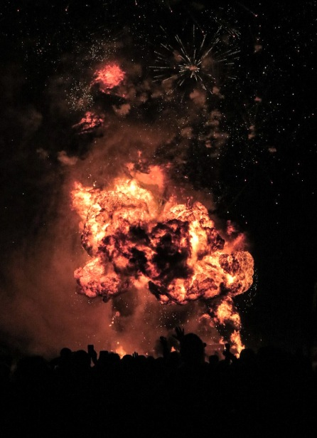 Kaboom! This one rocked the entire city.