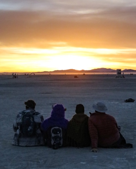 Where the Wild Things are: watching the sunrise