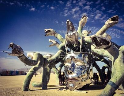 Medusa, in all her glory